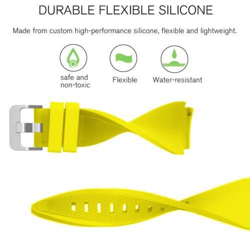 venda de reloj de pulsera de silicona de... (yellow)
