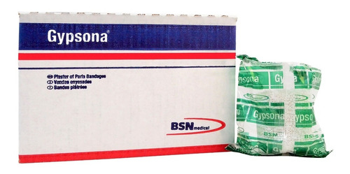 venda de yeso gypsona s 5 cm x 2.75 m - 2  x 3 yd 12 piezas