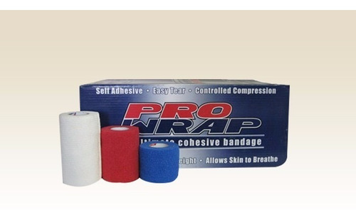 venda deportiva prowrap irlandesa 10cm x 4.5m (caja 18un.)