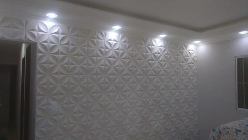 venda e instalação de placas de gesso 3d