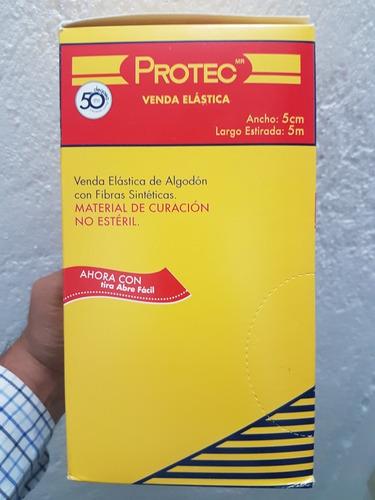venda elastica 5m y 5cm de ancho no esteril