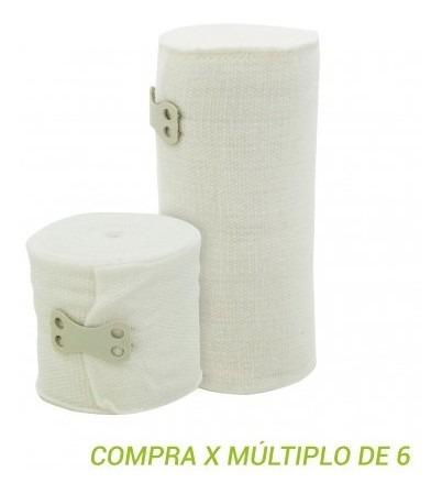 venda elastica  7 cm  blanco