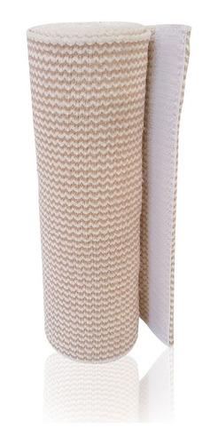 venda elástica alta compresión con gancho y felpa de 15 cm