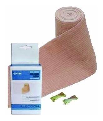 venda elástica de algodón hipoalergenica 10 cm x 3 mt ptm