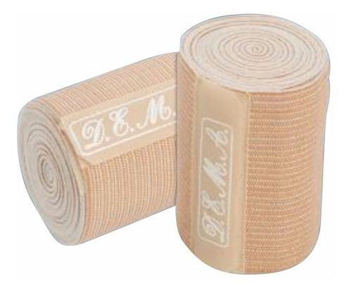 venda elastica resistente 10cm x 2 mts. varices d.e.m.a.