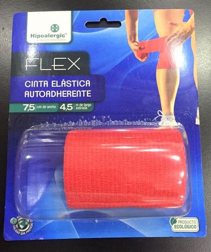 venda elástica tipo coban, flex, 7 cm x 4.5 m
