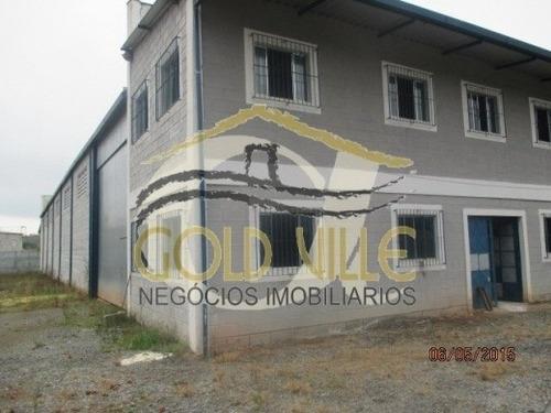 venda galpão cotia  brasil - 1352v