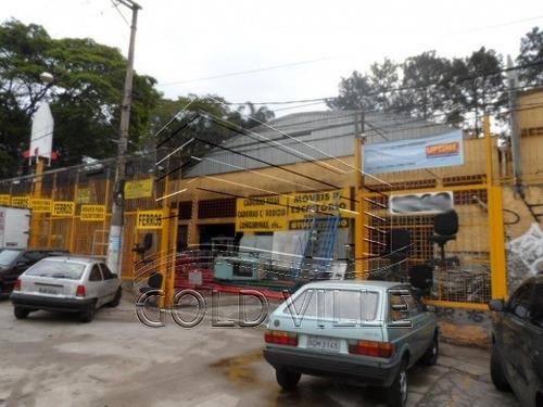 venda galpão taboão da serra  brasil - 3306v