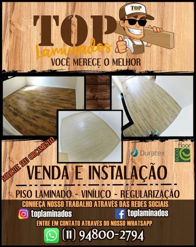 venda, instalação e manutenção de piso laminado e vinílico!
