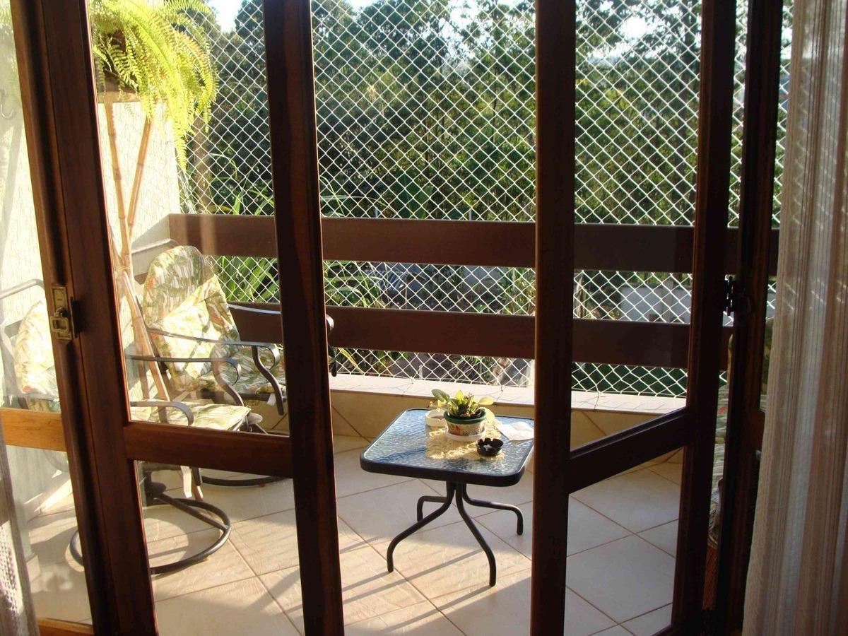 venda lindo sobrado aruã c/3 dorms com vista para área verde