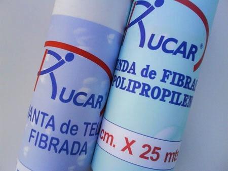 venda manta de tela fibrada previene filtraciones 1mt x 25mt
