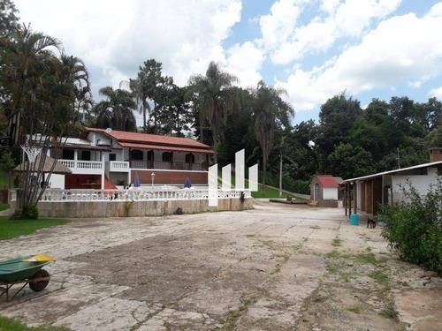 venda ou locação (mínimo 2 diárias) - chácara com 11 dormitórios à venda, 20000 m² por r$ 1.980.000,00 (v) - r$ 1.000,00 (dia) - piracaia/sp - ch0002