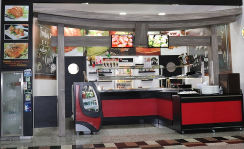 venda restaurante japones completo montado pronto