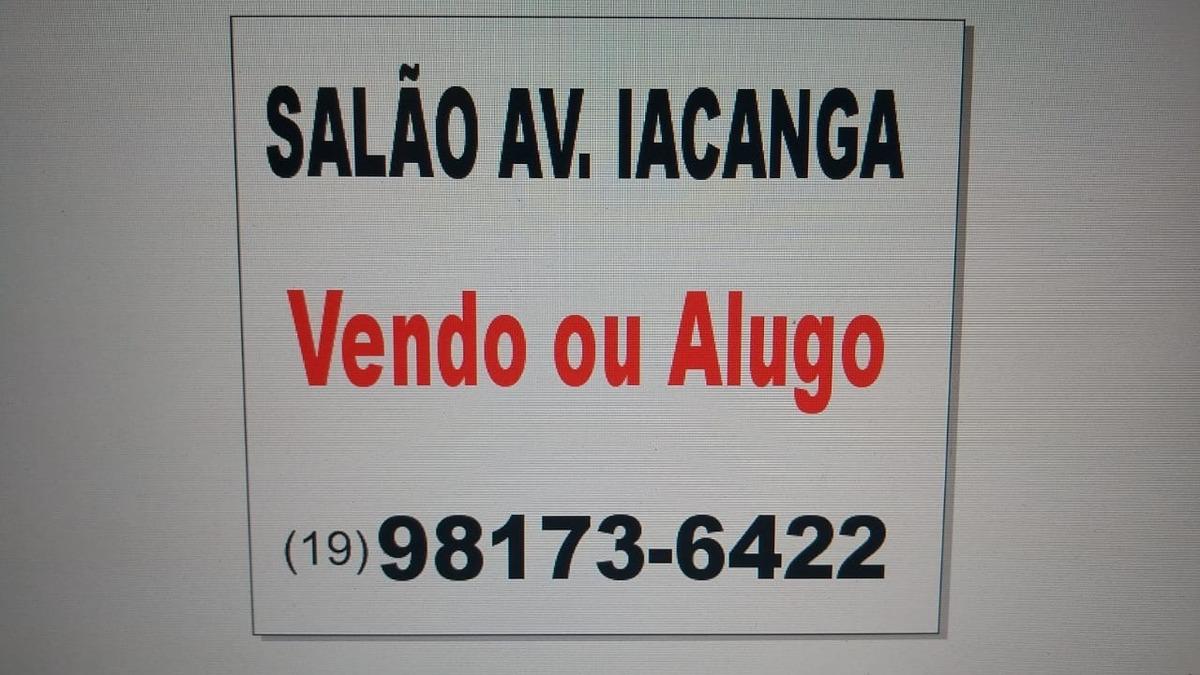 venda - salão - jardim ipiranga - americana - sp - d0259