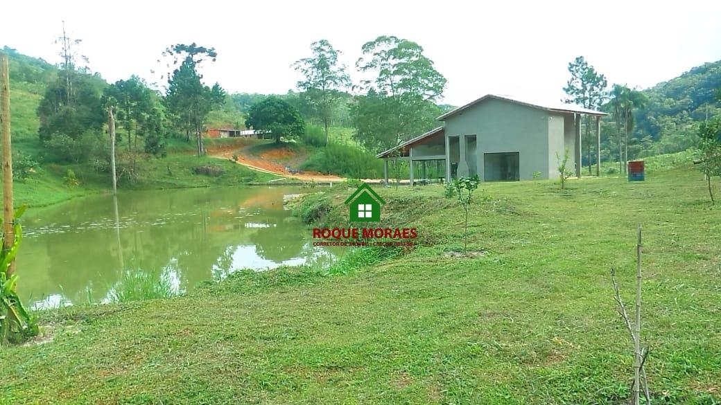 venda sítio em juquitba com pasto, lago com peixes. ref:0033