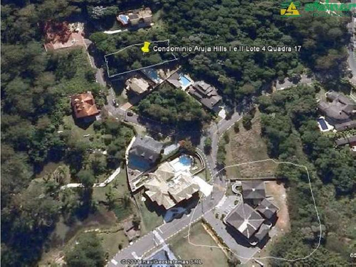 venda terreno em condomínio jardim imperial arujá r$ 380.000,00
