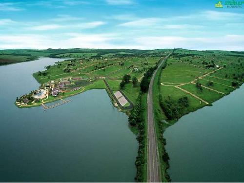 venda terreno em condomínio riviera de santa cristina ii itaí r$ 85.000,00