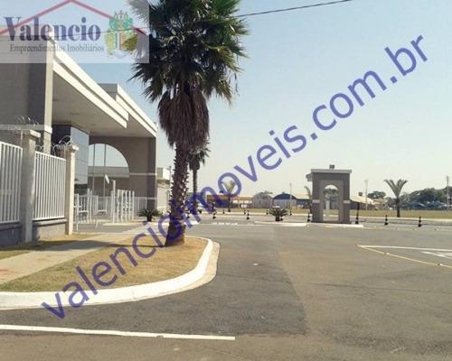 venda - terreno em condomínio - terras do imperador - americana - sp - 7377al