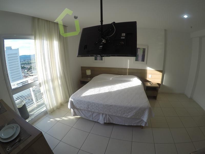 venda - unidade mobiliada no diamond apart-hotel