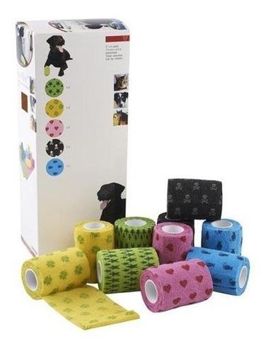 vendaje adhesivo flexible para perros y gatos vendas
