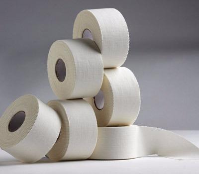 vendaje funcional cinta rigida adhesiva 3.8 cm x 14 m tape