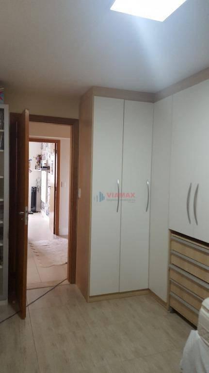 venda/permuta linda cobertura triplex - mediterrâneo - sjc - co0051