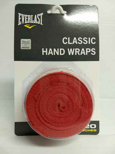vendas algodon 108  handwraps everlast unisex
