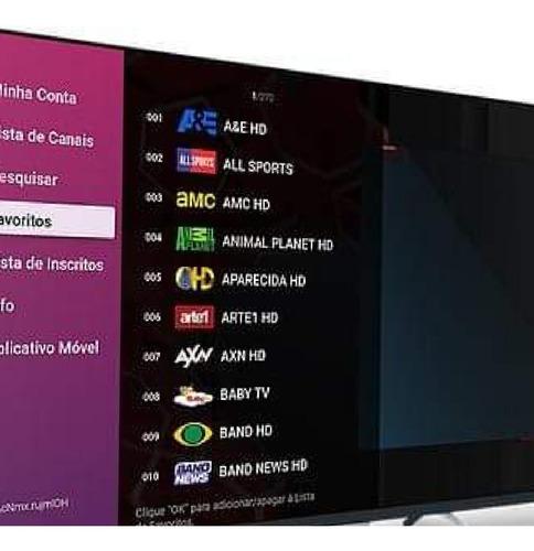 vendas códigos tv