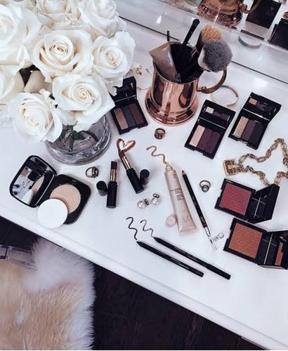 vendas de cosméticos on-line