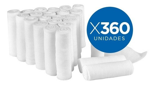 vendas de gasa t elastomull  10cmx4.5mt caja de 360 unidades