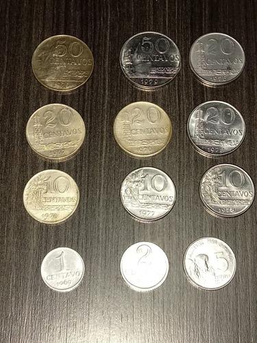 vendas de moedas antigas e estrangeiros