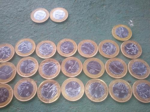 vendas de moedas das olimpiadas 2016