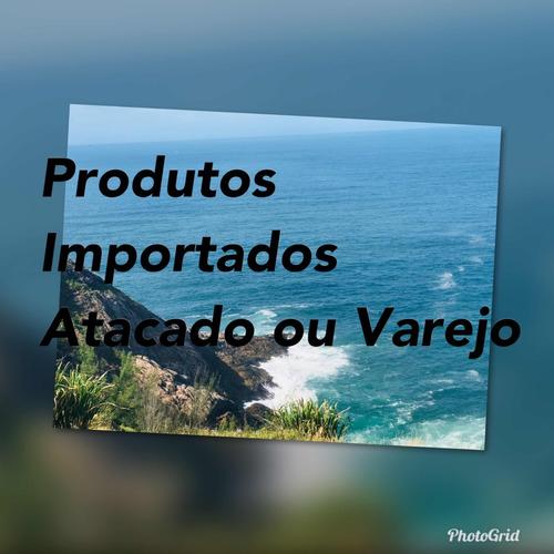 vendas de produtos importados atacado ou varejo