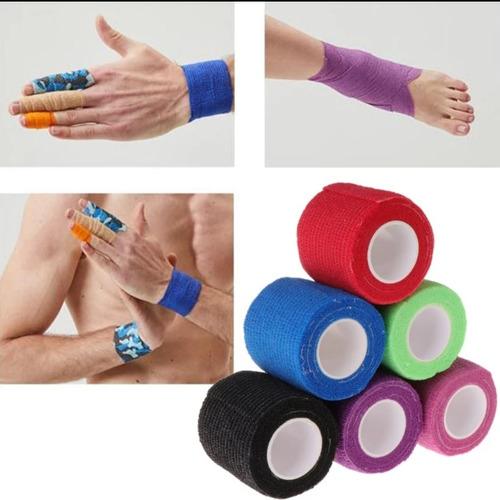 vendas deportivas adhesivas coban 5cm
