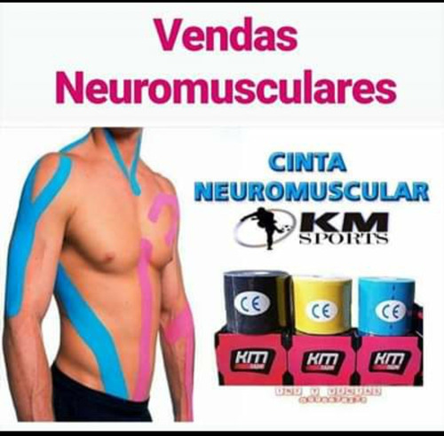 vendas deportivas neuromusculares knesiotape
