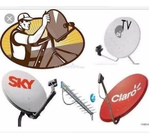 vendas e apontamentos de antenas pequenos reparos elétricos
