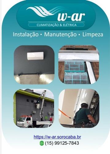 vendas, instalação e manutenção de ar condicionado