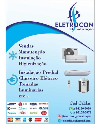 vendas, instalação e manutenção de ar-condicionado