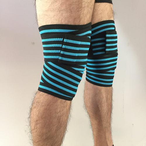 vendas para rodillas, rodilleras gym, crossfit, marca felter