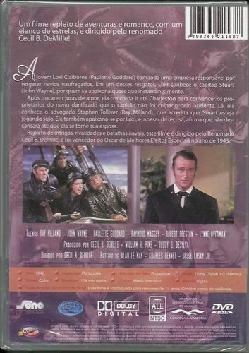 vendaval de paixões- john wayne e susan hayward, dvd novo
