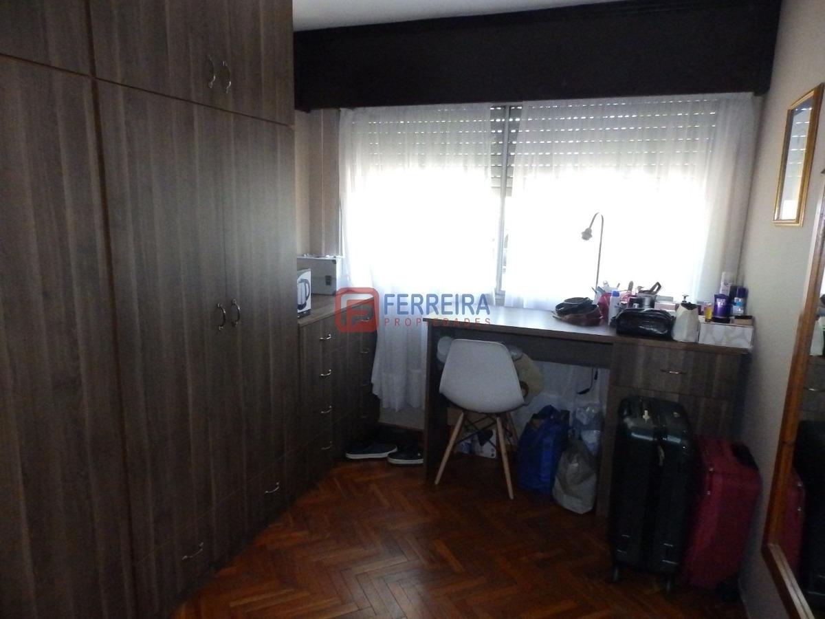 vende apartamento de 2 dormitorios al frente - cordón sur