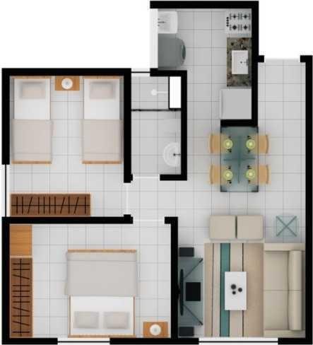 vende apartamento planalto (repasse)