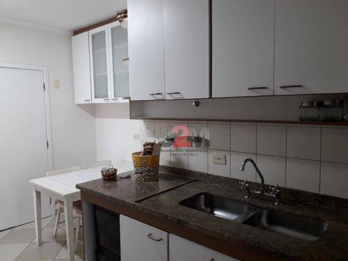 vende ou aluga semi-mobiliado. apartamento com 4 dormitórios à venda, 140 m² por r$ 1.350.000 - brooklin - são paulo/sp - ap76611