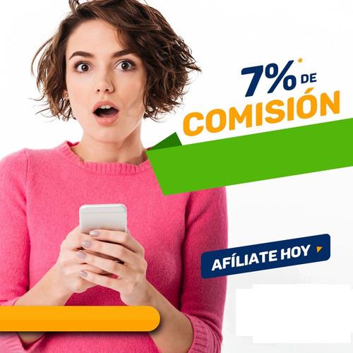 vende recargas electronicas 7%