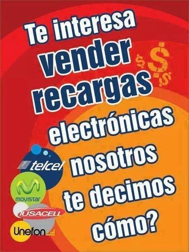 vende recargas electrónicas