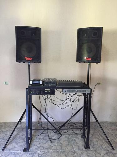 vende-se  aparelhagem de som (usado)