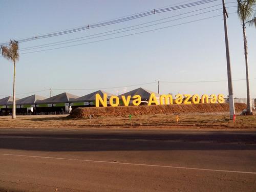 vende-se lote comercial quitado no residencial novo amazonas e nova manaus-iranduba - 31155