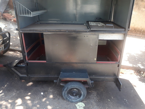 vende-se mini treiller hot dog