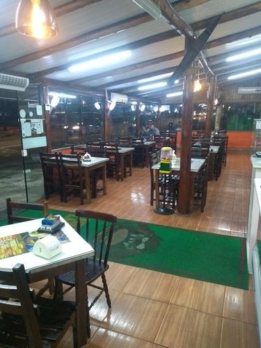vende-se ponto de lanchonete com restaurante junt