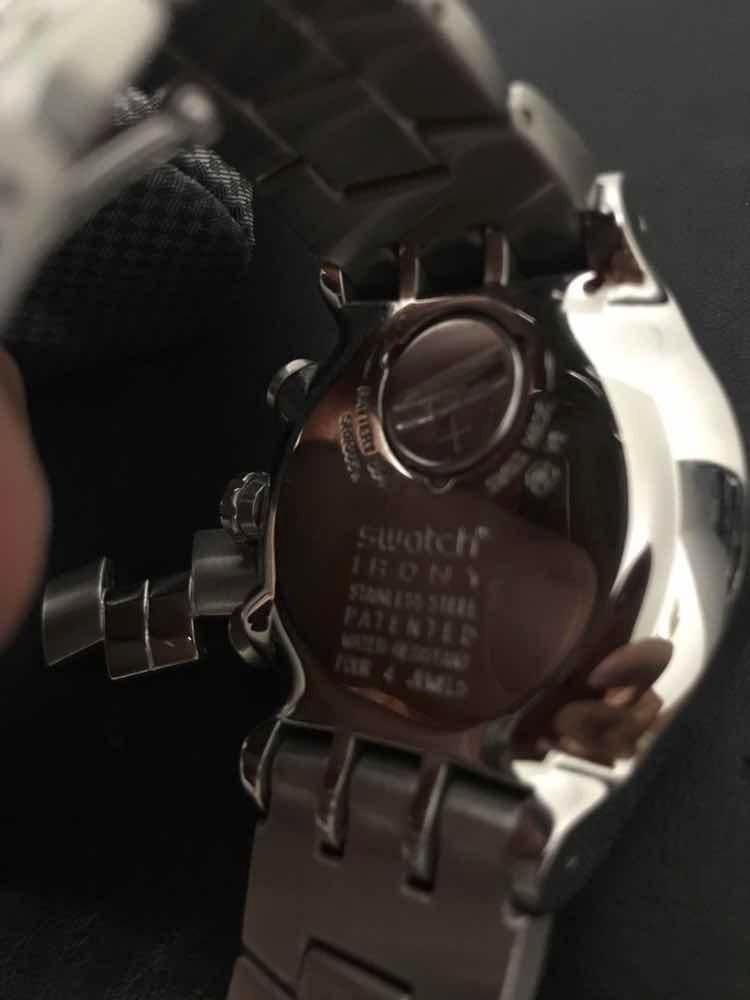d47e2184010 vende-se relógio swatch irony yos401g wealthy star. Carregando zoom.